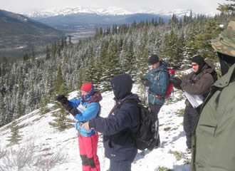 Wilderness Navigation Course in the Mountians